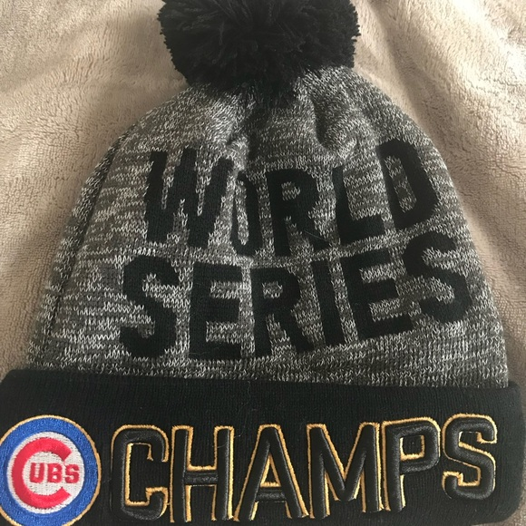 Chicago Cubs World Series Hat bee9aa1f723c